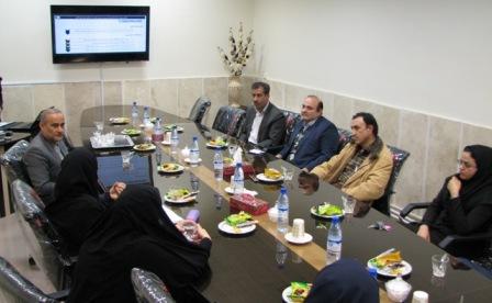 جلسه مرکز تحقیقات مدیریت اطلاعات سلامت دانشگاه علوم پزشکی کاشان
